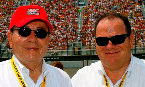 Floyd (Left) and Chip Ganassi (Photo via CGR Teams Twitter account)