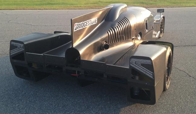 DeltaWing coupe (DeltaWing Racing Cars)