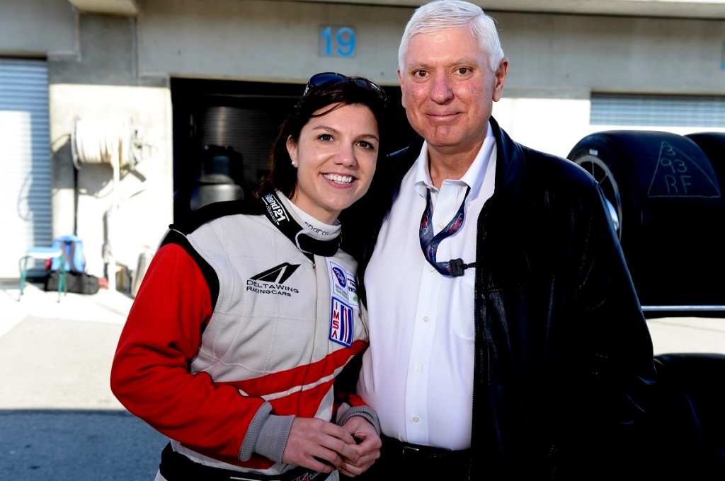 Katherine Legge and Al Speyer (DeltaWing Racing Cars)