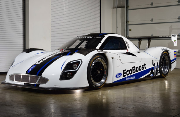 The new EcoBoost livery (Ford photo)