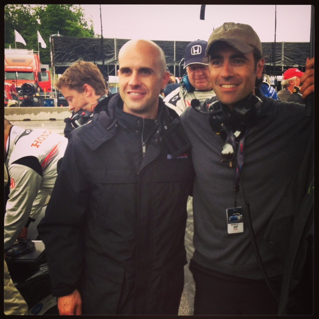 The brothers Franchitti earlier this year (Tony DiZinno)