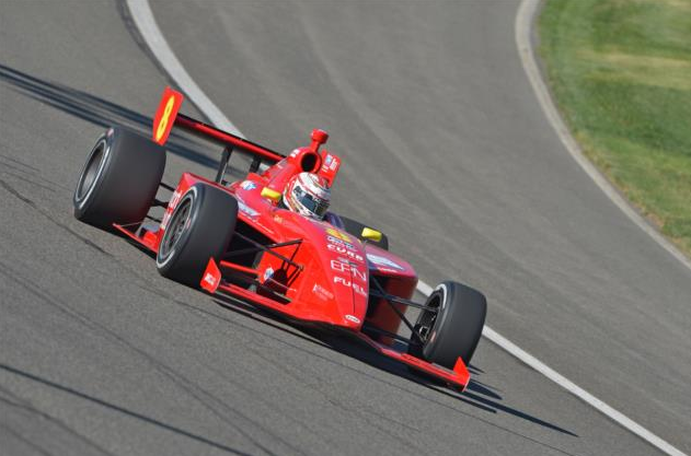 Sage Karam (IndyCar photo)