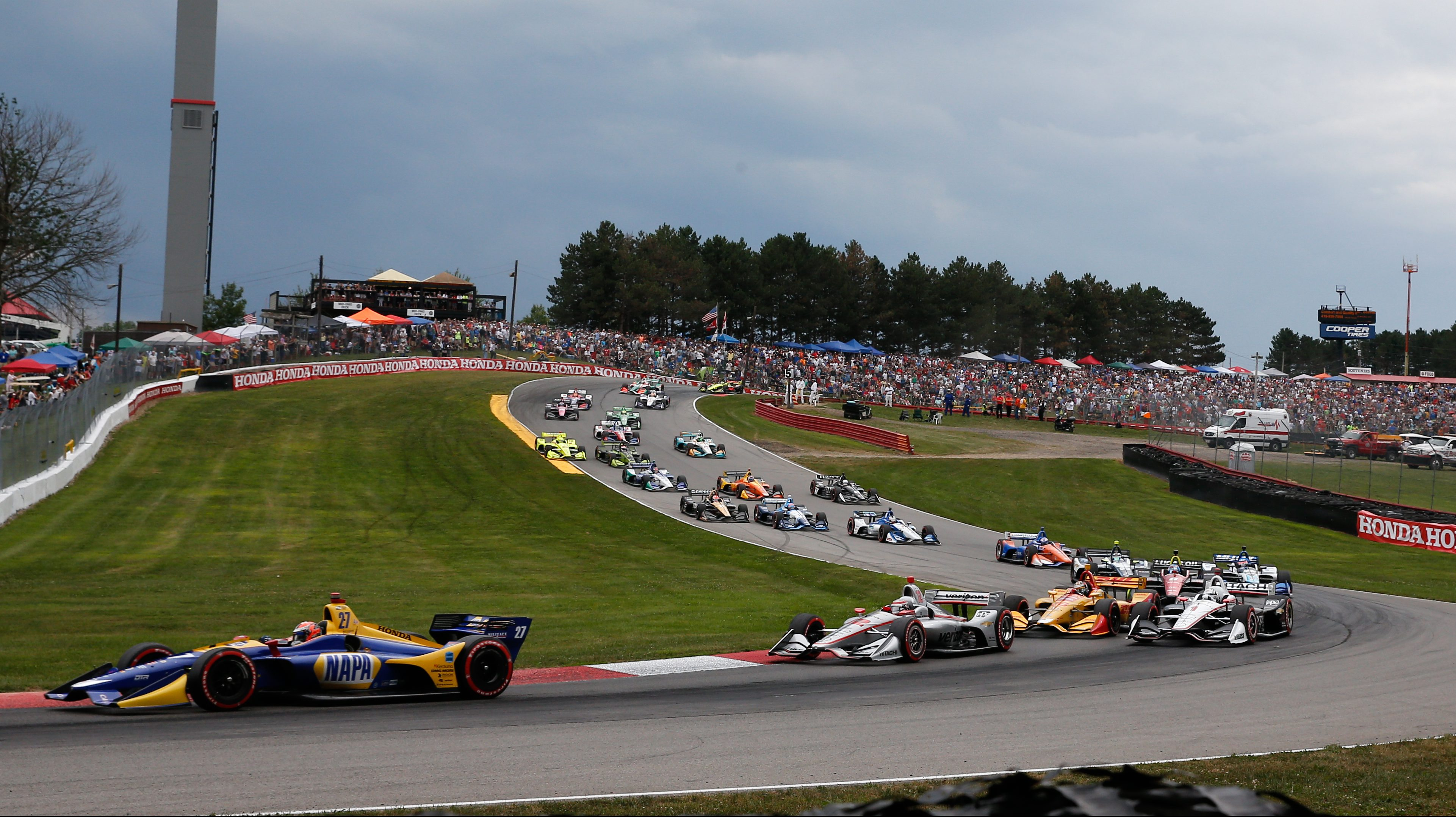 Mid Ohio Raceway >> Five Things To Watch For During The Honda Indy 200 At Mid