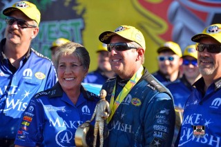 Don Schumacher Racing continues to help others through 'giving car' program