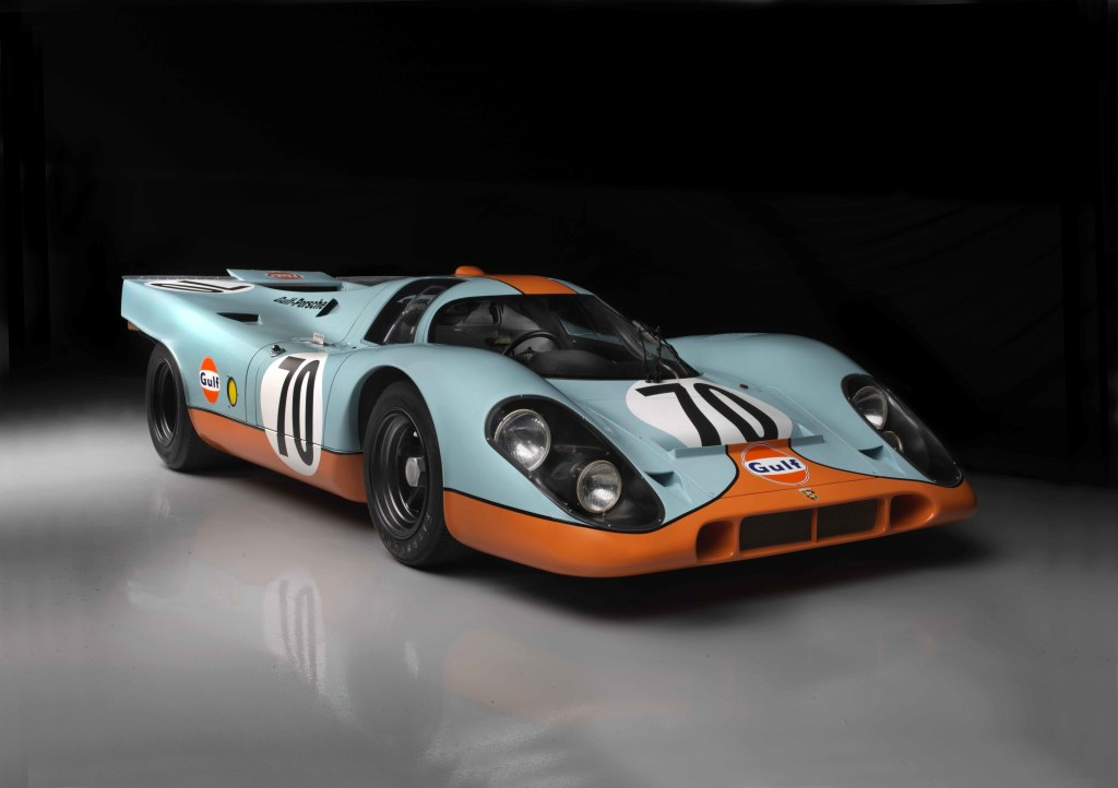 Steve McQueen's famous Porsche 917K among vehicles displayed in new museum