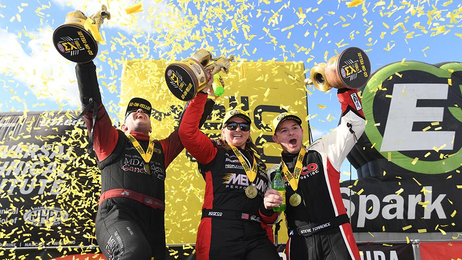 NHRA winners: S. Torrence, Tommy Johnson, Erica Enders - NBC Sports