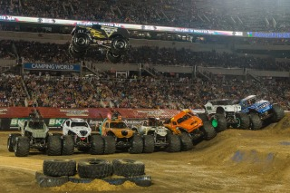 How Fans Like To Get Their Racing Jam On With Monster Jam Nbc Sports