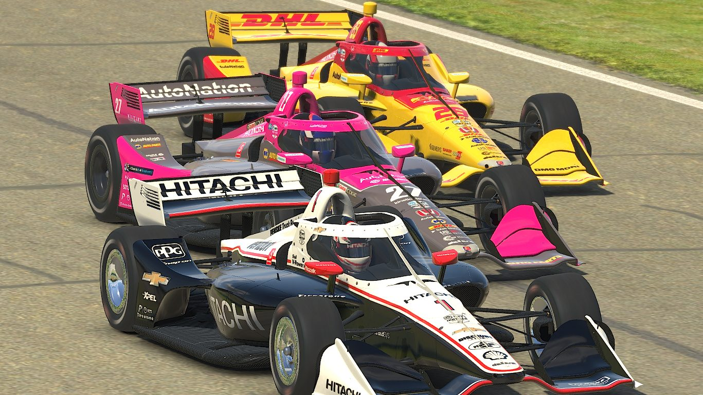 IndyCar iRacing entry list for Barber Motorsports Park event - NBC Sports