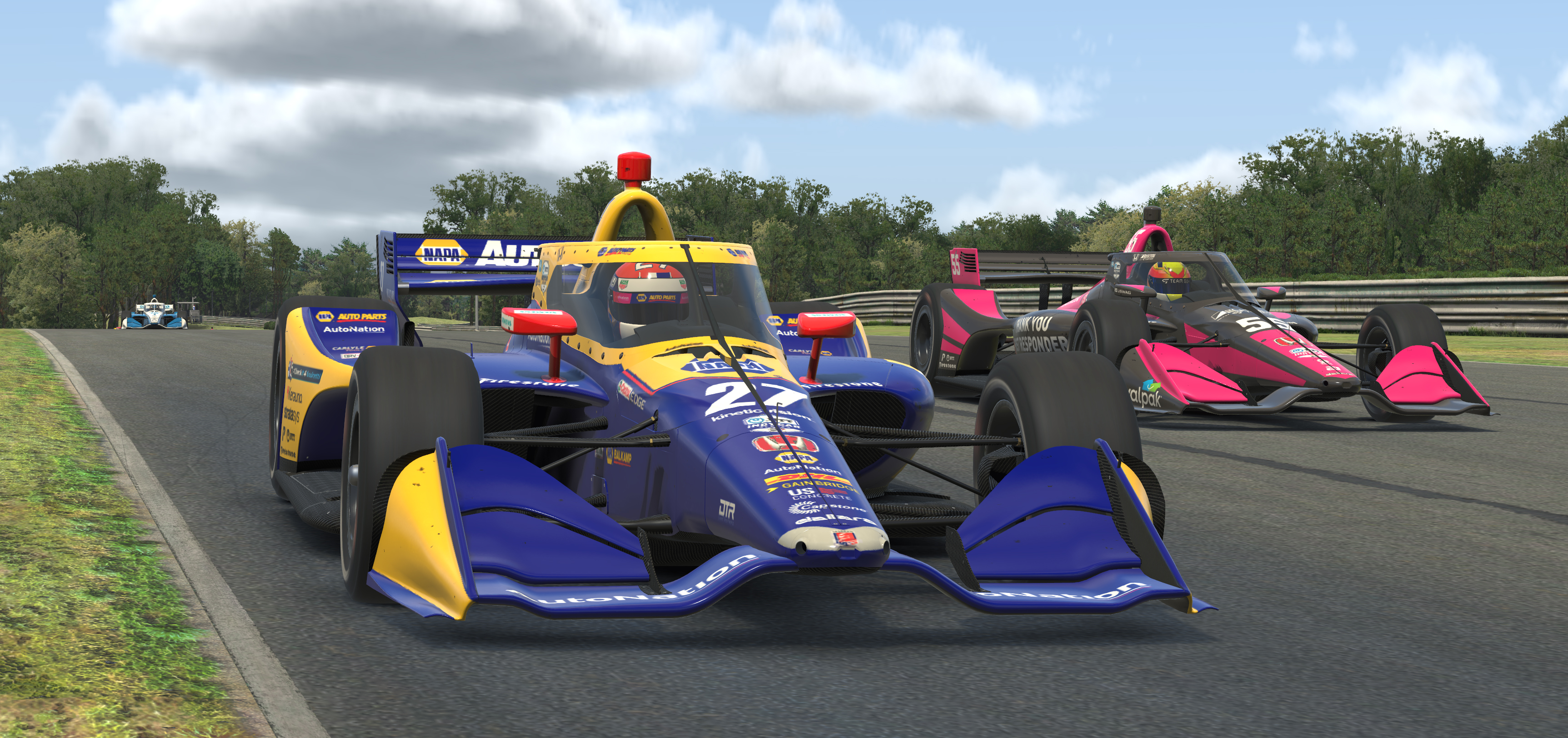 IndyCar iRacing photo gallery from Barber Motorsports Park - NBC Sports