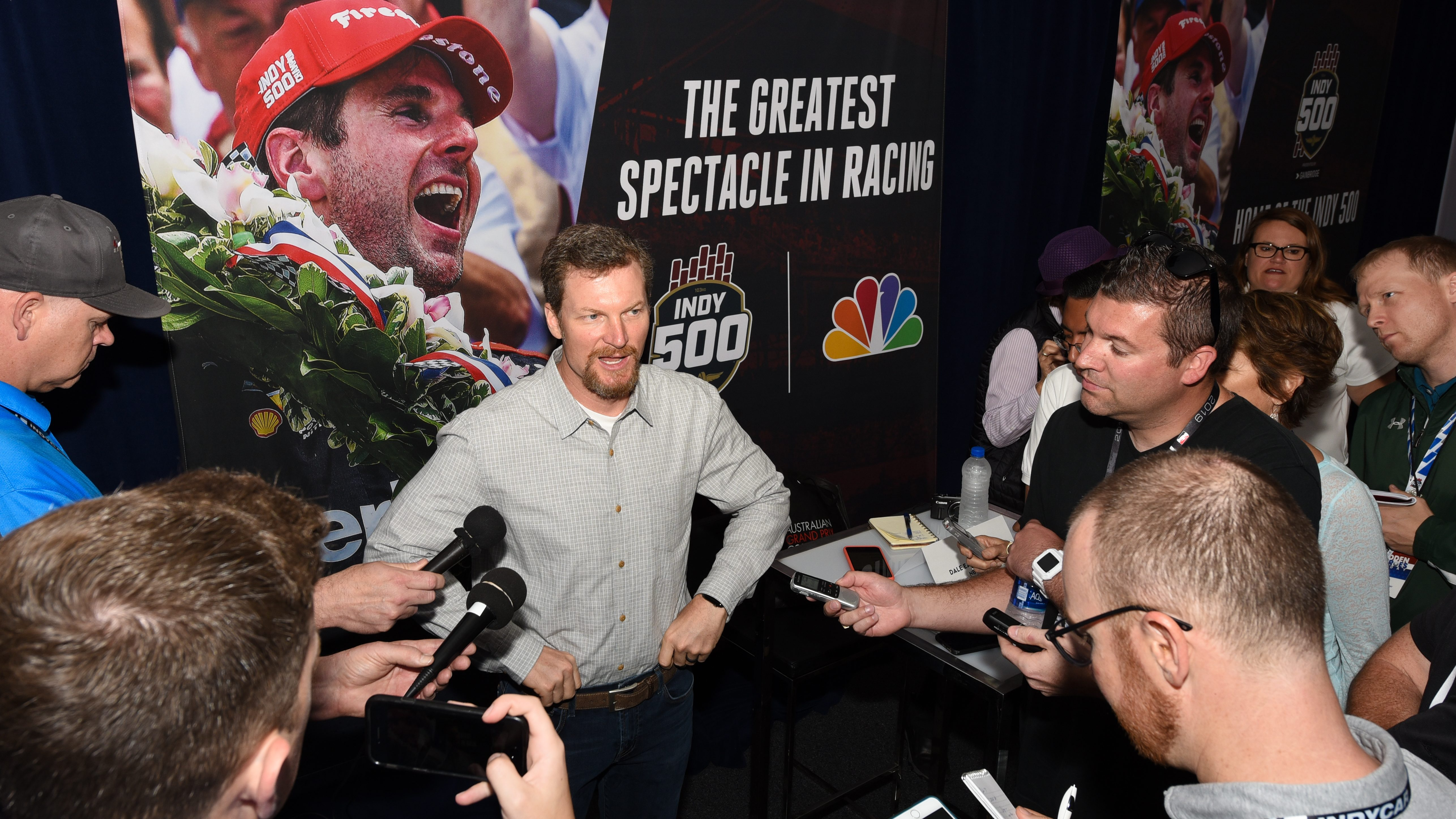 Dale Jr. would love to try IndyCar at Michigan (in iRacing) - NBC Sports