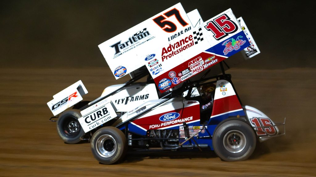 World of Outlaws Kyle Larson