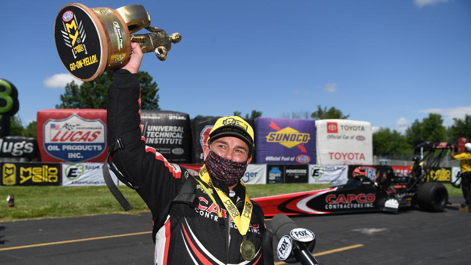 NHRA is back: B. Torrence, Hagan, Line, Oehler win in Indy - NBC Sports