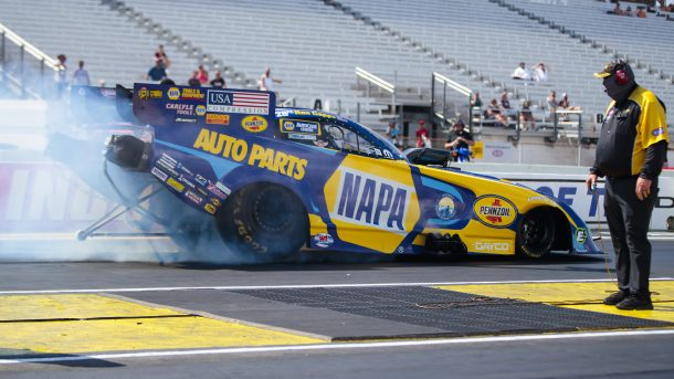 NHRA Ron Capps Indianapolis