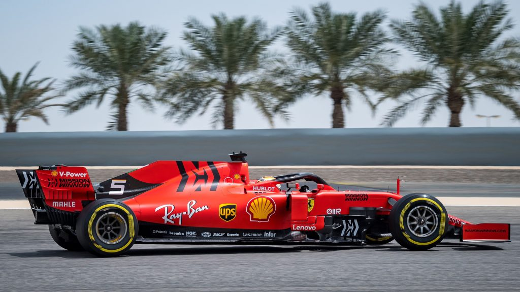 F1 Bahrain Outer Oval