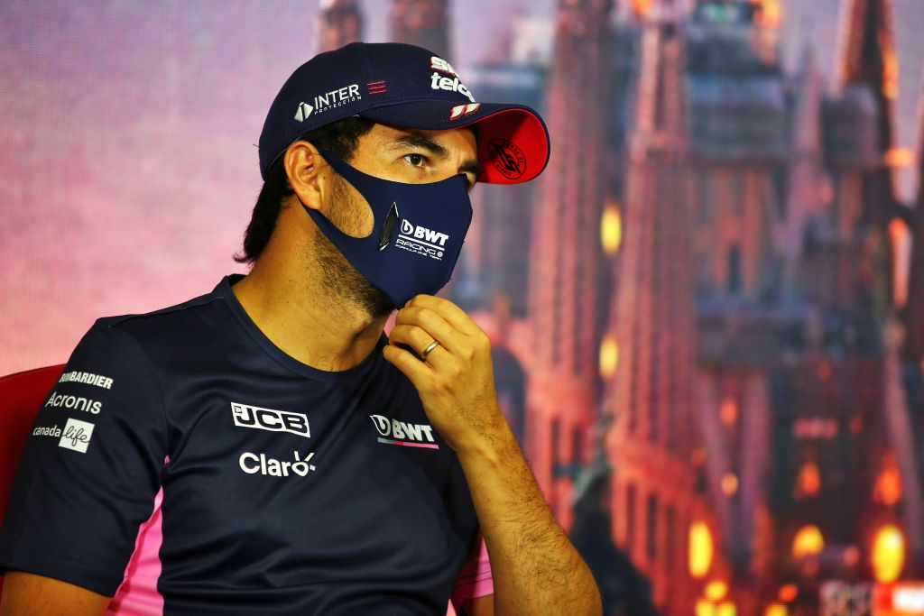F1 driver Sergio Perez will race in Spain after negative COVID-19 test