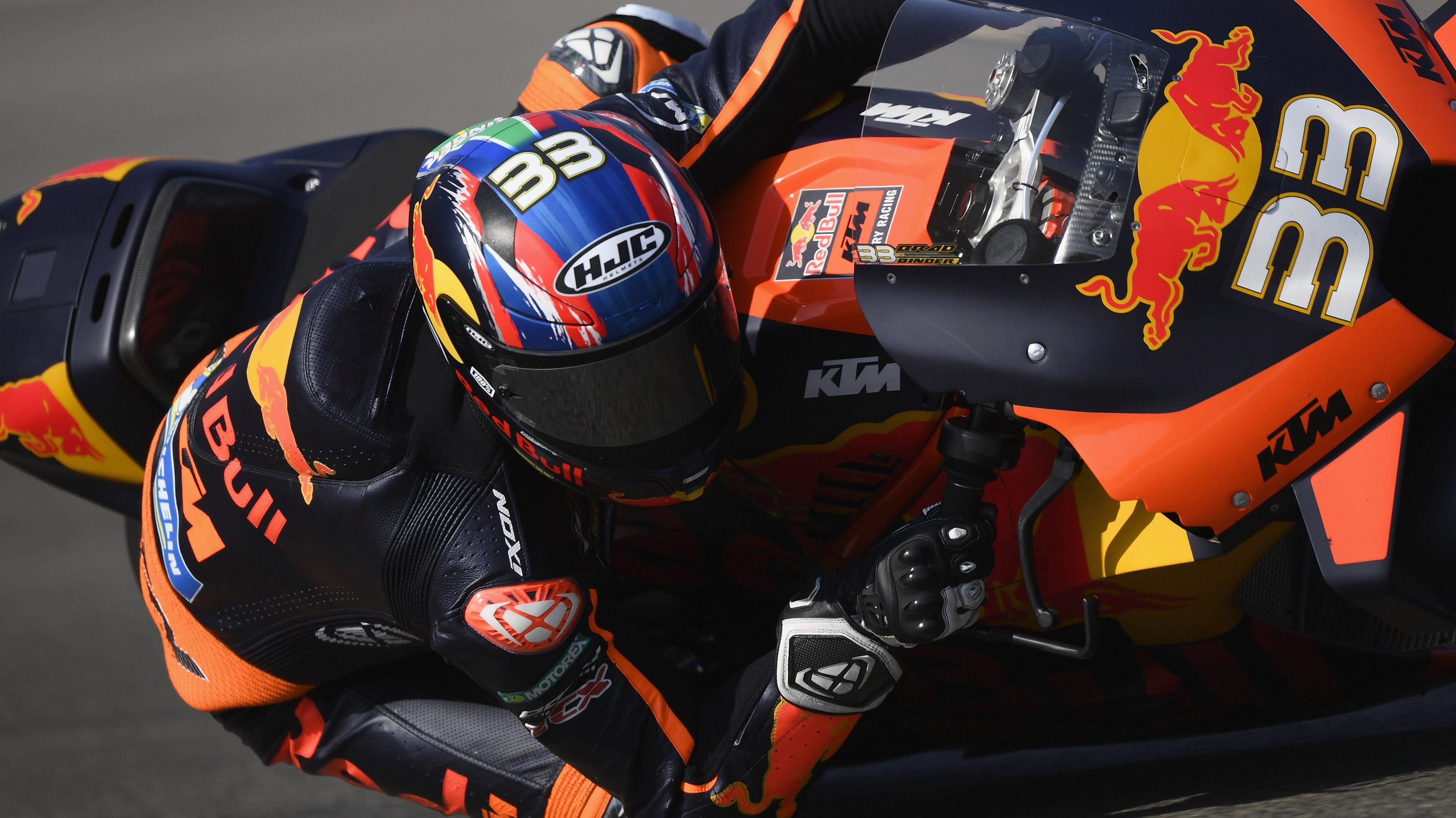 Motogp Brad Binder Victory First For Ktm In Premier Class Nbc Sports