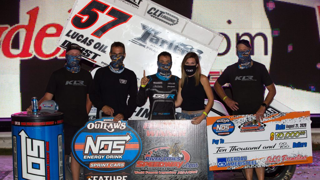 Kyle Larson Outlaws victories