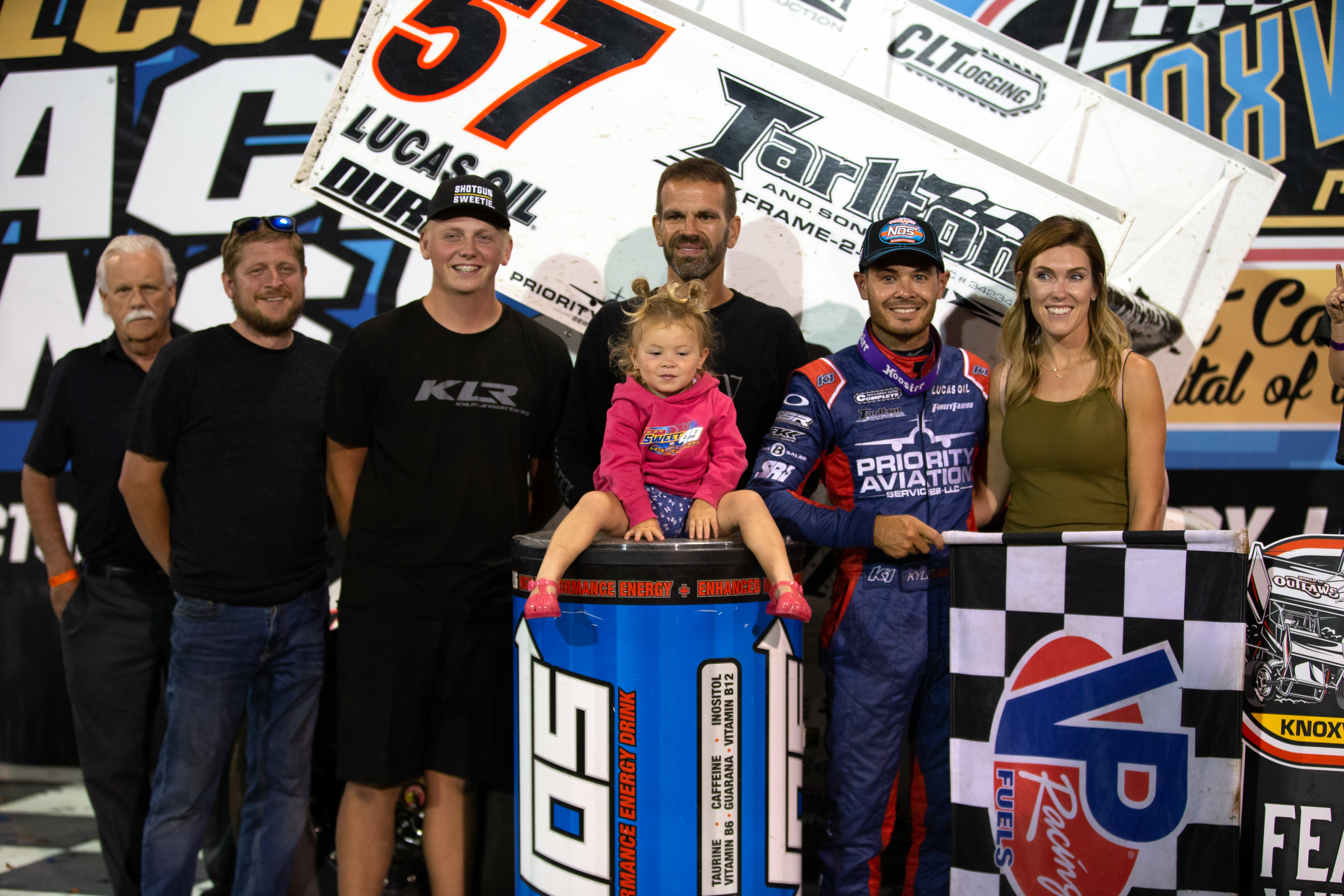 Kyle Larson wins Knoxville