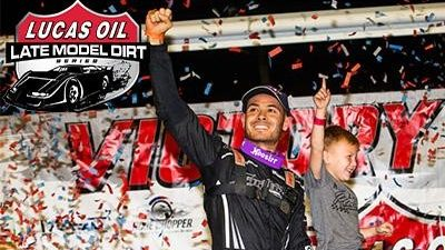 Kyle Larson dirt racing