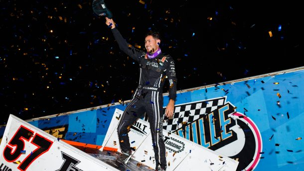 Kyle Larson Outlaws Knoxville