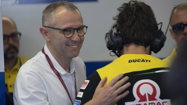 Stefano Domenicali named F1 CEO