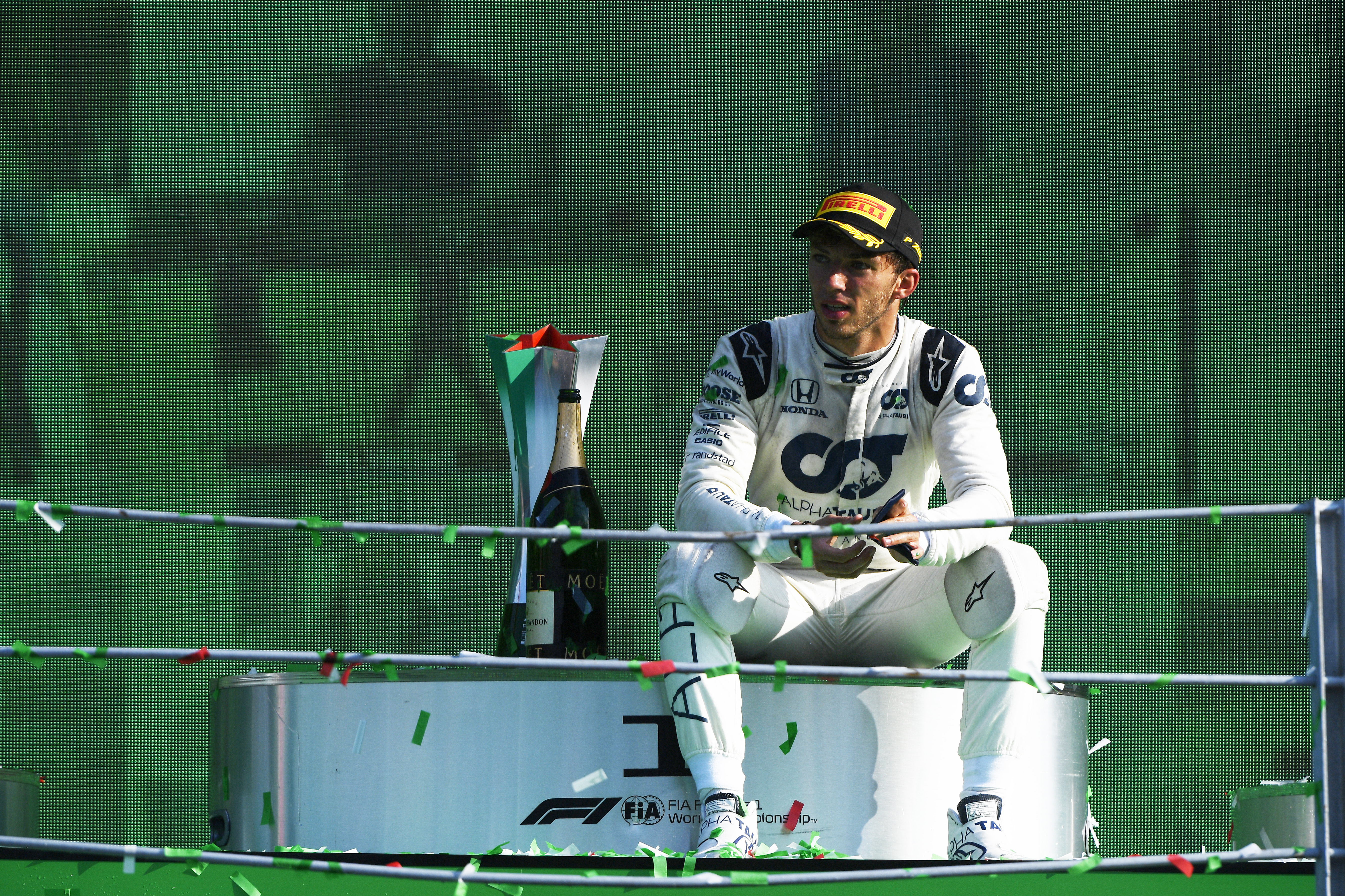 F1 Pierre Gasly Wins For First Time In Monza As Lewis Hamilton Penalized