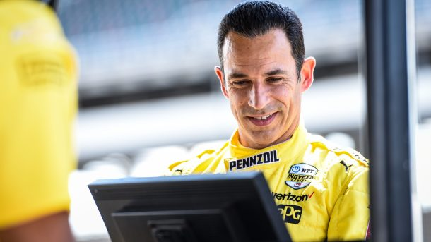 Helio Castroneves replacing Askew