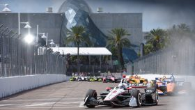 IndyCar St. Petersburg start