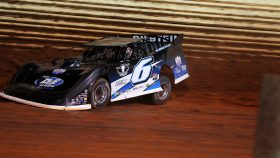 Kyle Larson Outlaws Late Model