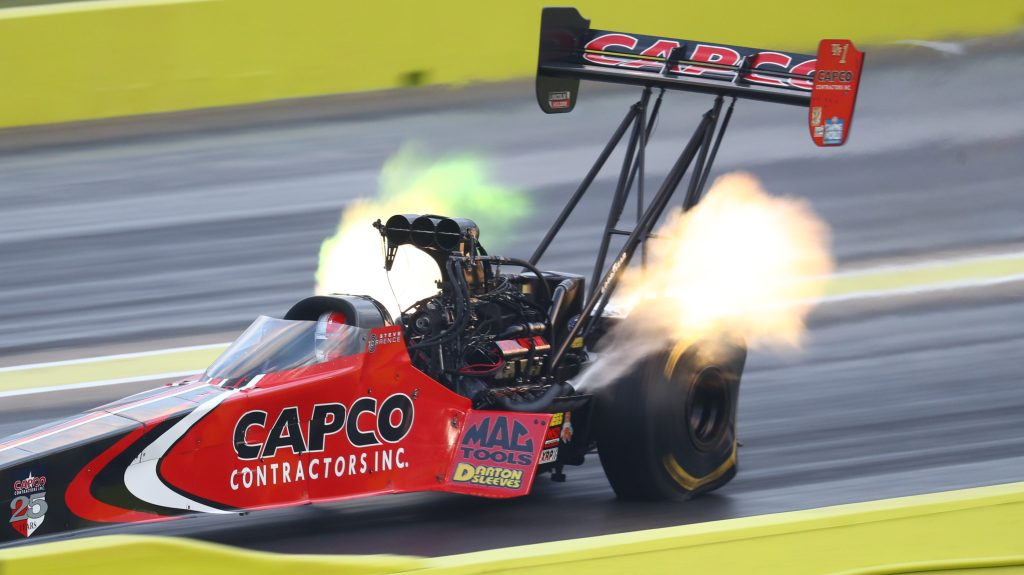 NHRA Midwest Nationals delayed