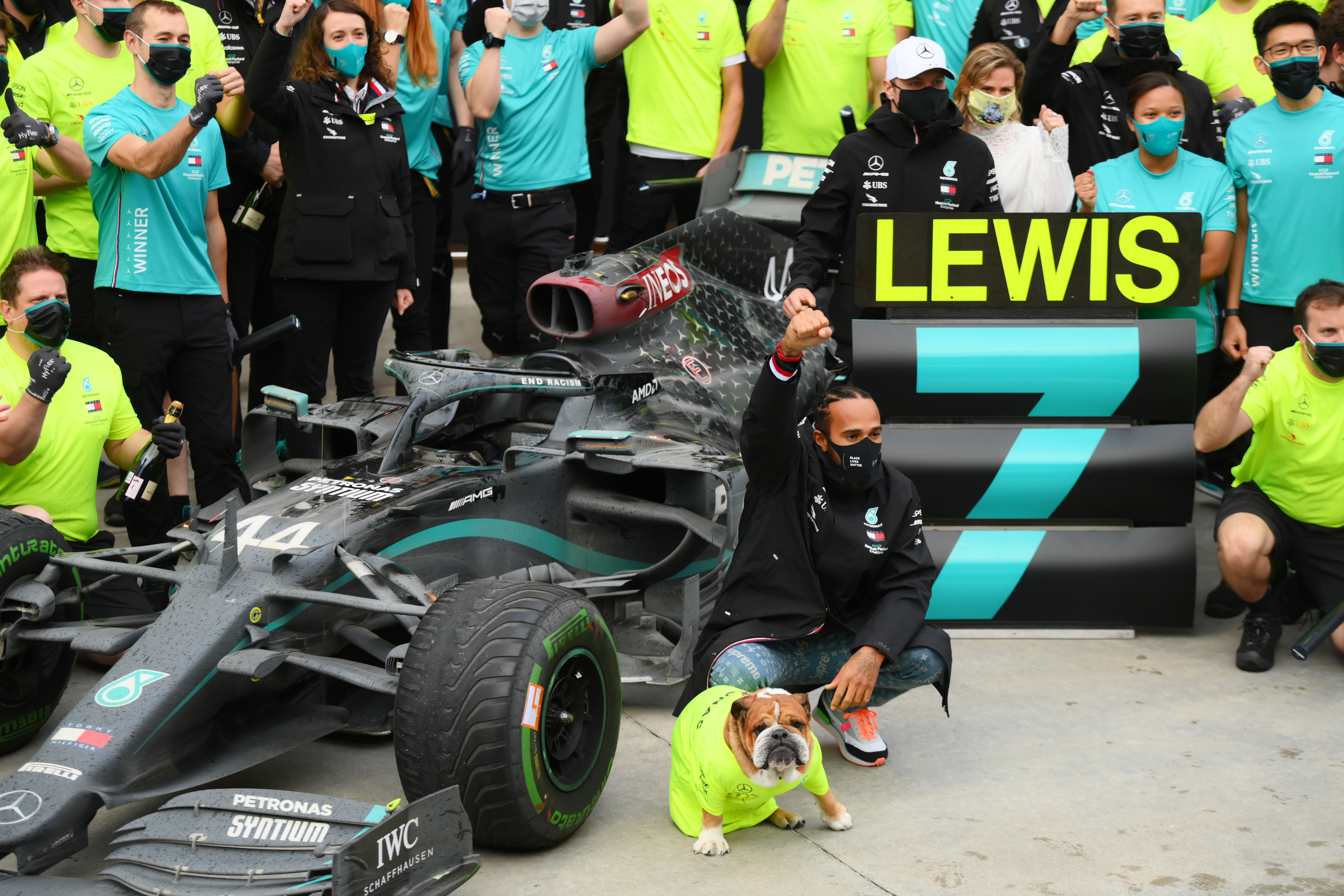 Lewis Hamilton seventh title