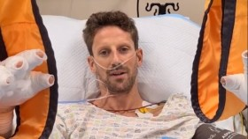 Romain Grosjean injury update