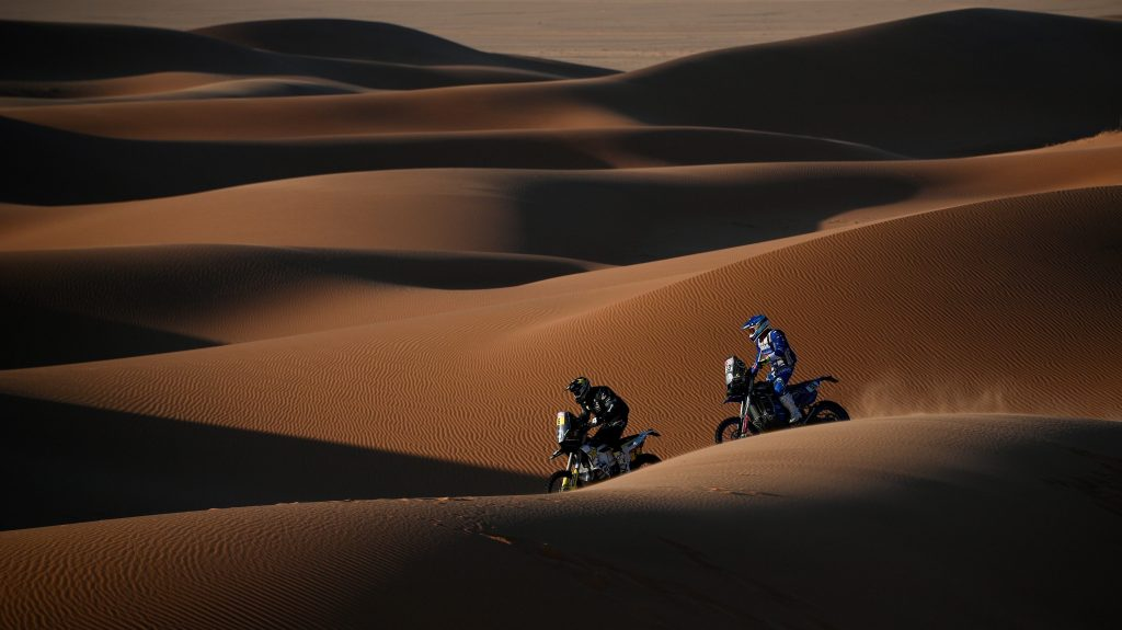 Andrew Short Dakar Rally