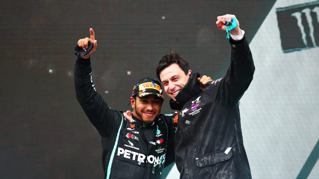 Mercedes Toto Wolff extension