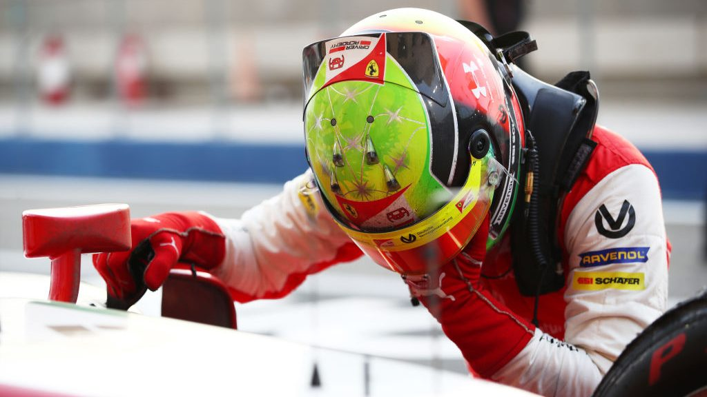 Schumacher clinched F2 championship