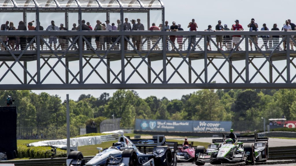 IndyCar weekend schedule Barber