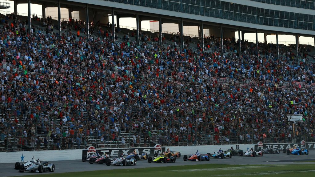 IndyCar 2021 entry lists schedule Texas