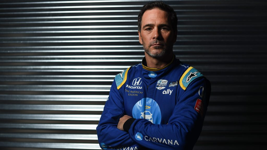 Jimmie Johnson Indy 500 2022