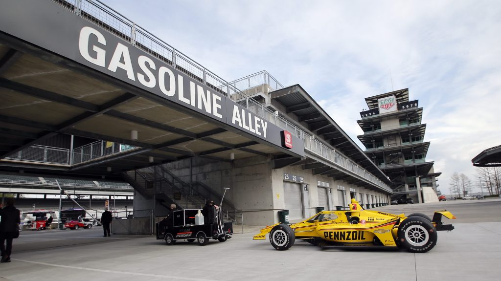 When is the Indy 500