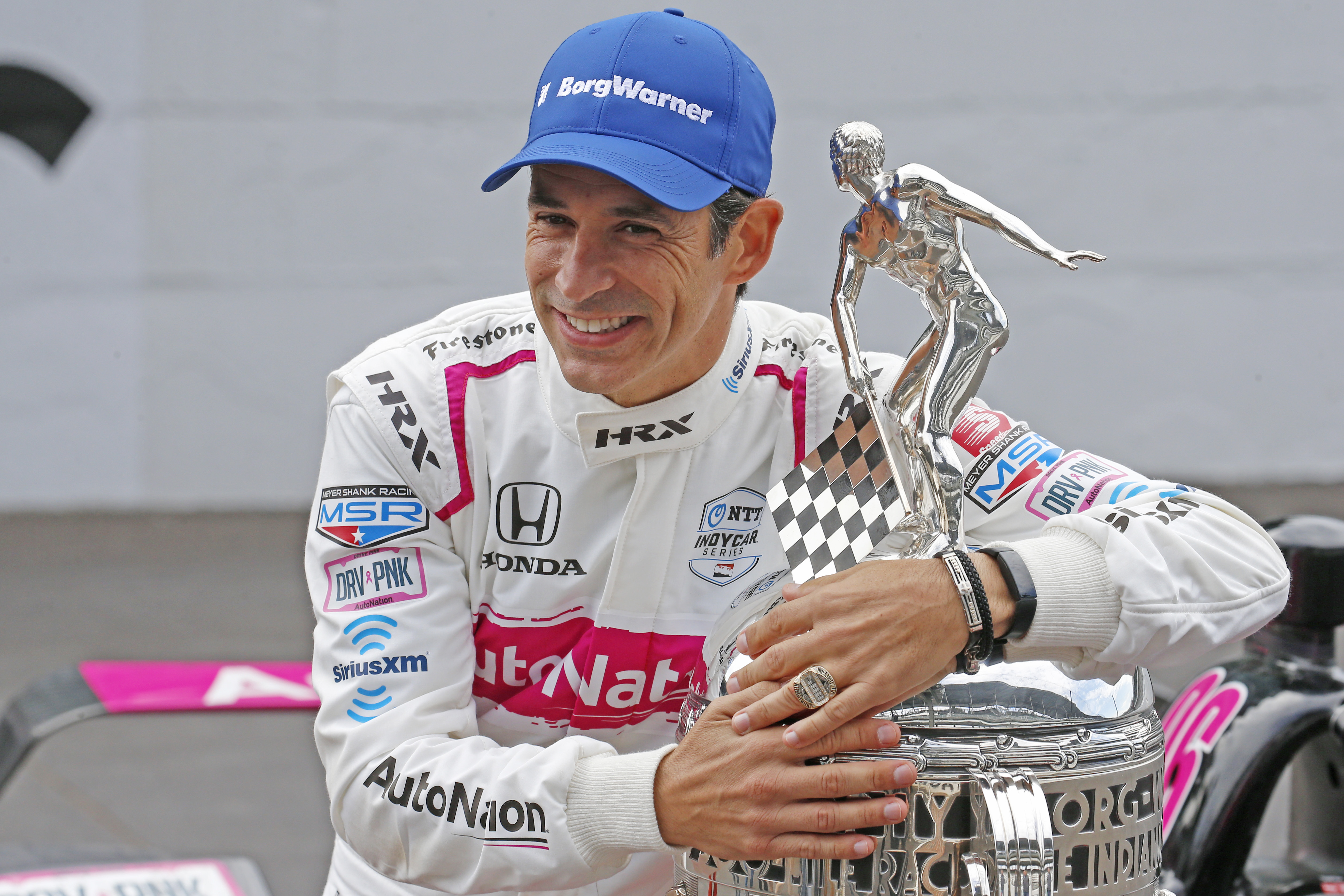Helio Castroneves cunning Indy
