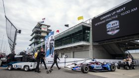 Indy 500 opening practice