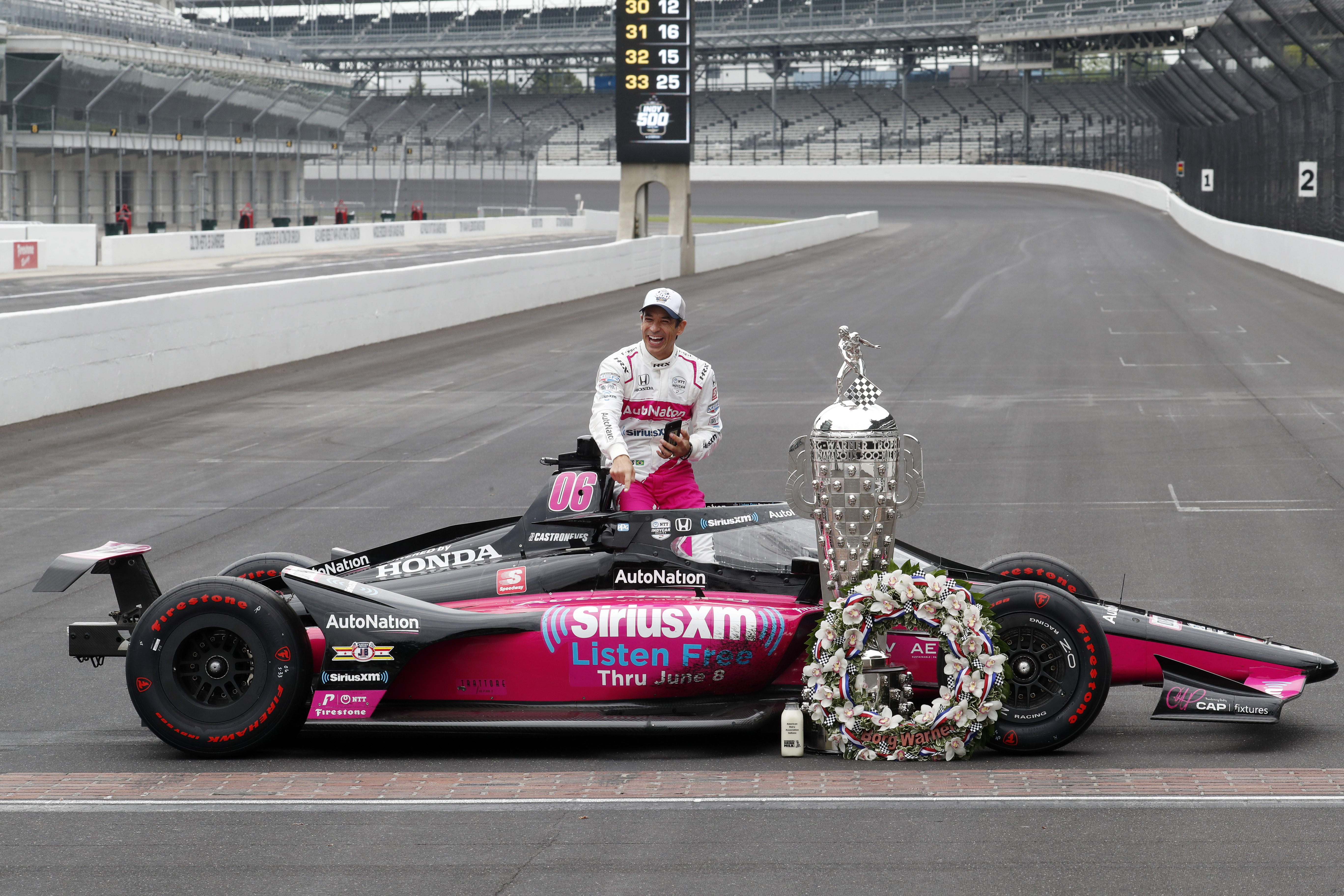 AUTO: MAY 31 INDYCAR - The 105th Indianapolis 500 Victory Celebration