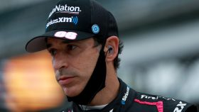 IndyCar Helio Castroneves angry
