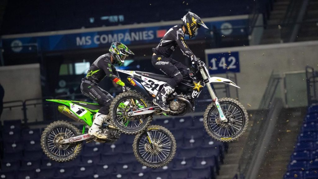 Supercross points results Round 4